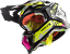 thumbnail 4 - LS2 MX470 SUBVERTER TRIPLEX BLACK YELLOW PINK OFF ROAD MX MOTORCYCLE QUAD HELMET