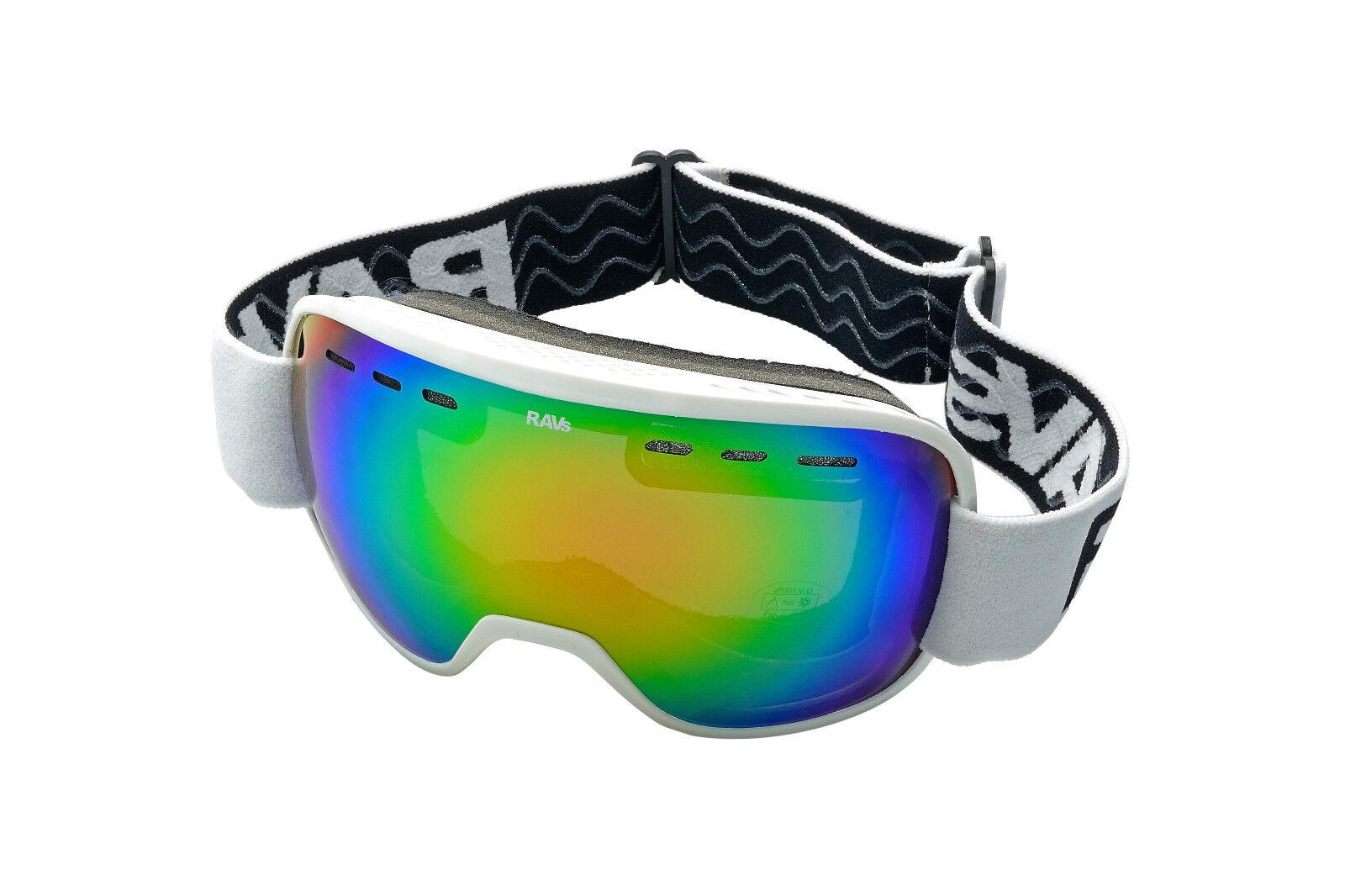 RAVS Predective Goggles Ski Snowboard Skiing - Contrast Enhanced