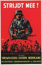 German WW2 Netherlands Waffen SS Wehrmacht large Poster