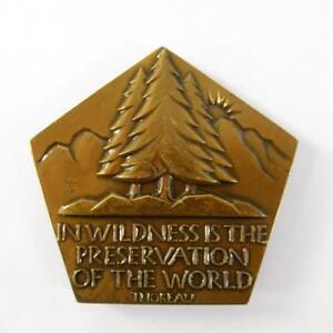 Nature Médaille Société des médaillés 76th numéro 1967 pentagonale Donald R. Miller