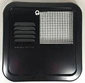6259AEB SW model 10, 12, 16 Gal Flush Mount -BLACK-Suburban Water Heater Door