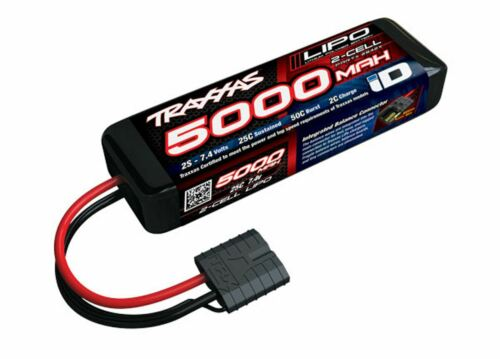Traxxas 2842X 7.4V 5000mAh 2S 2-Cell 25C LiPo Battery w// ID Connector