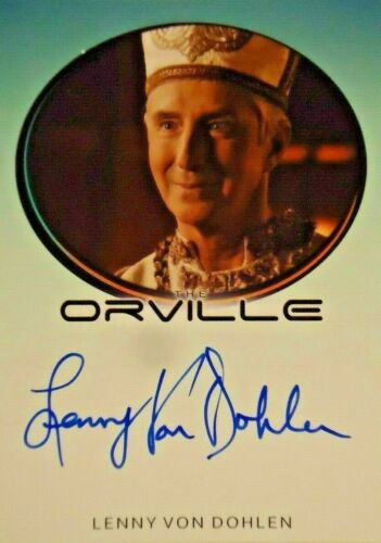 Orville Season 1  Lenny Von Dohlen as VAlondis  Autograph Card