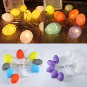 10LED-Easter-Egg-Fairy-String-Light-Festival-Round-Colorful-Party-Accessory