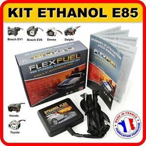 Kit Ethanol E85 - 4 Cylindres Flex Fuel Kit Kit de Conversion Bioethanol E85..