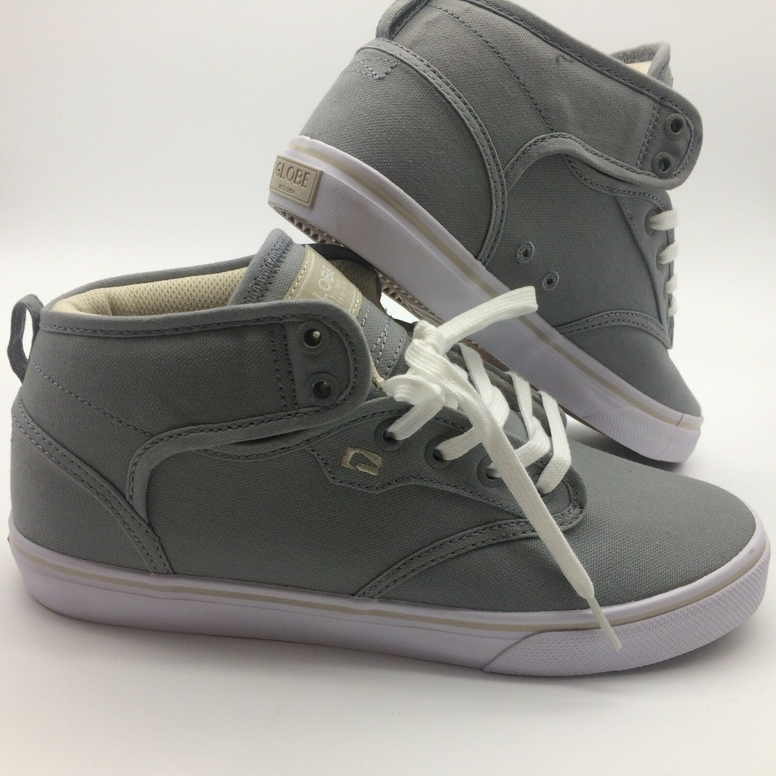 Globe hommes Chaussures ''Motley Mid''-- Gris /Oatmeal