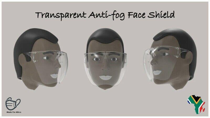 Anti-fog Transparent Clear Face Shields