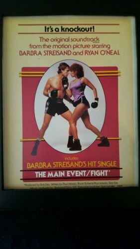 Barbra Streisand The Main Event Rare Original Promo Poster Ad Framed!