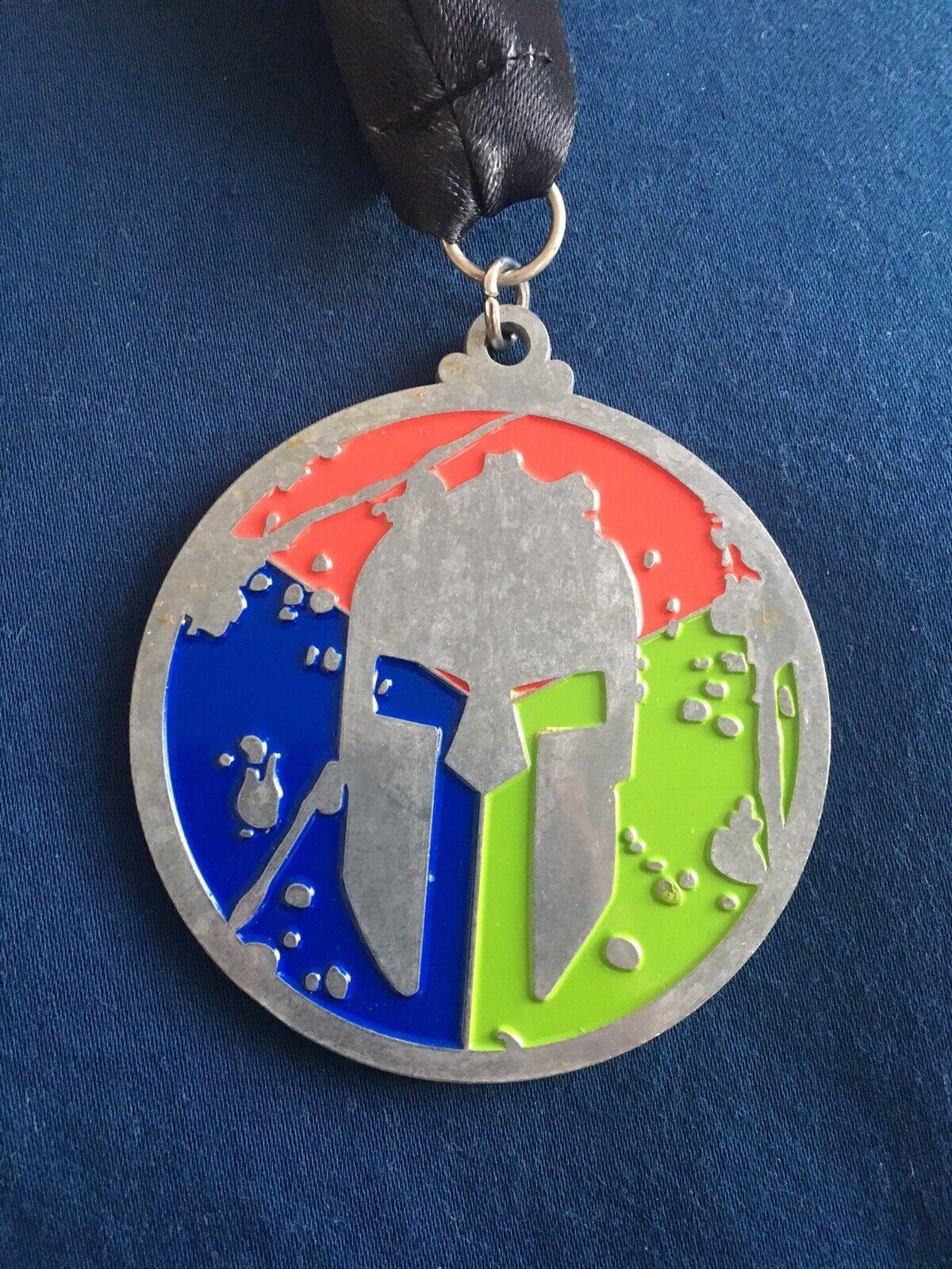 Spartan Race 2013 Original Trifecta Medal With Sprint, Super, Beast Medals
