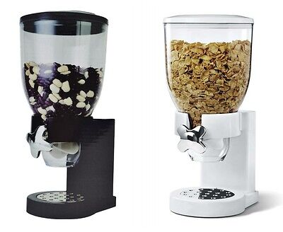 Shine ® Cereal Dispenser Dry Food Container Pasta Kitchen Machine Two Colours