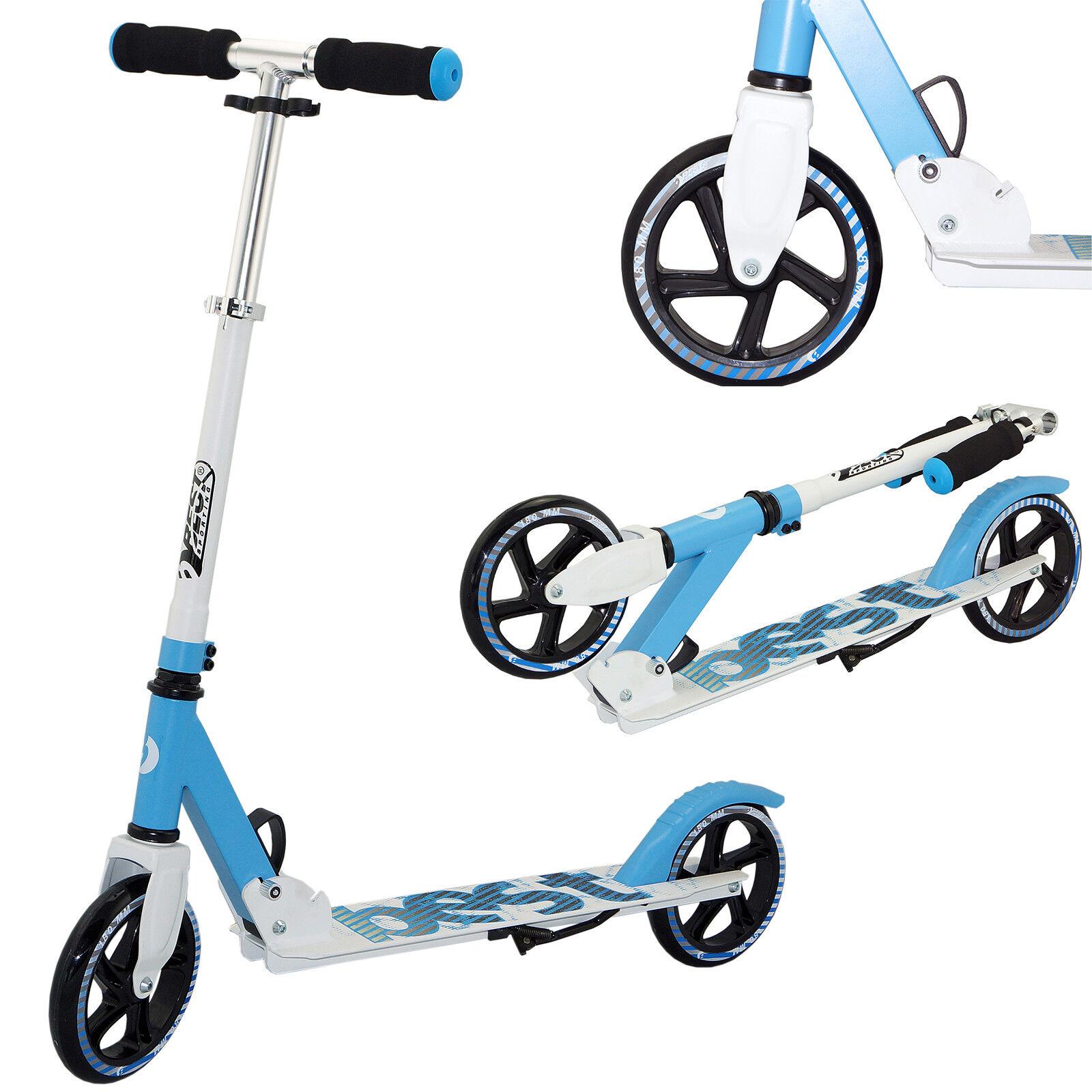 Best Sporting Scooter 180er Rolle aus Aluminium klappbar blau blau blau oder Rosa a03104