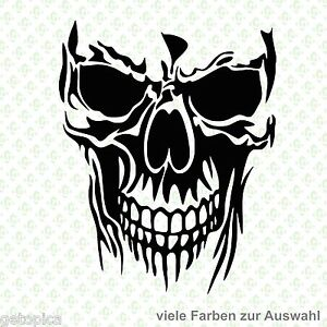 Autoaufkleber Sticker Totenkopf Skull Aufkleber