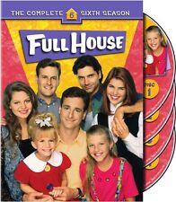 Full House: The Complete Sixth Season [4 Discs] (2007, DVD NIEUW)4 DISC SET