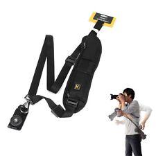 Quick Rapid solo hombro Sling Correa Cinturón para Cámara Réflex Digital DSLR Cannon