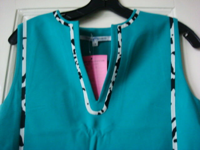 DVF Diane von Furstenberg NWT seafoam sample dress 2