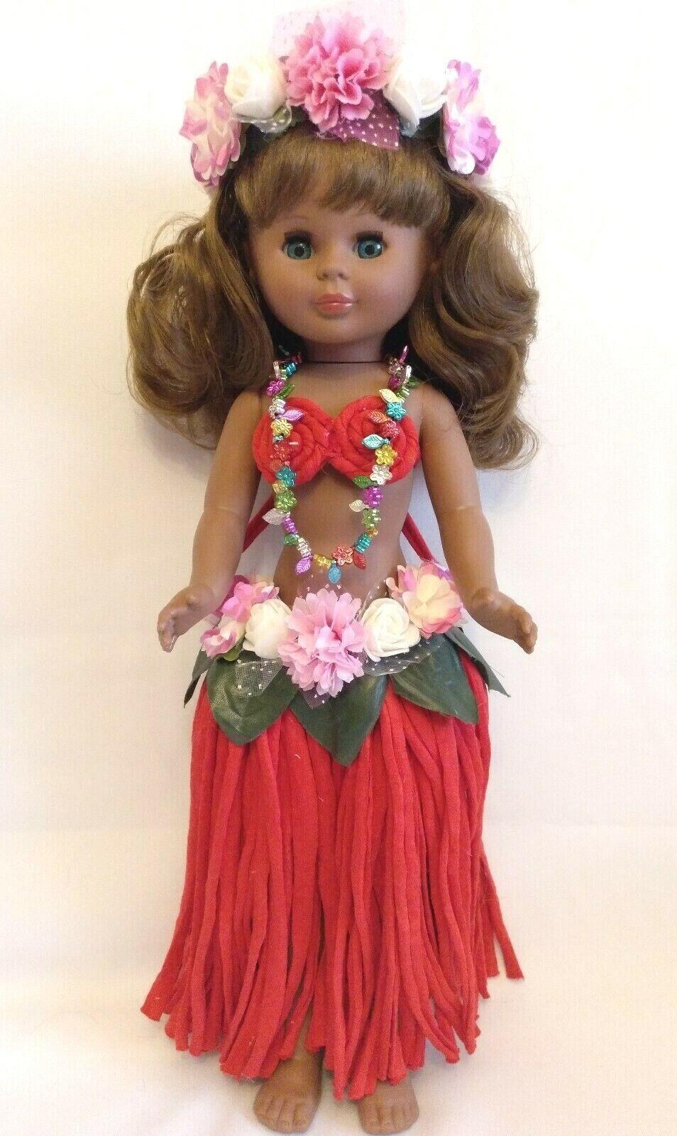 Muñeca KIKA Nº1 Hawaiana,mejor imitacion de nancy antigua de Famosa
