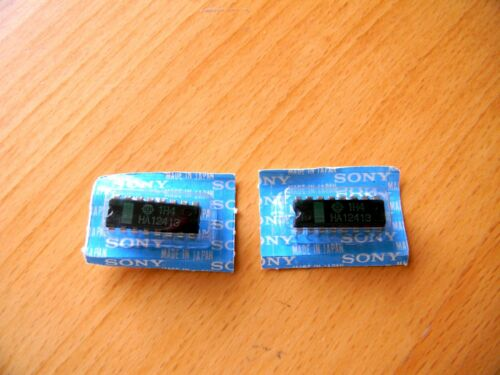 Part 8-759-324-13 HA12413 Hitachi Integrated Circuit X 2 For Sony ICF-760