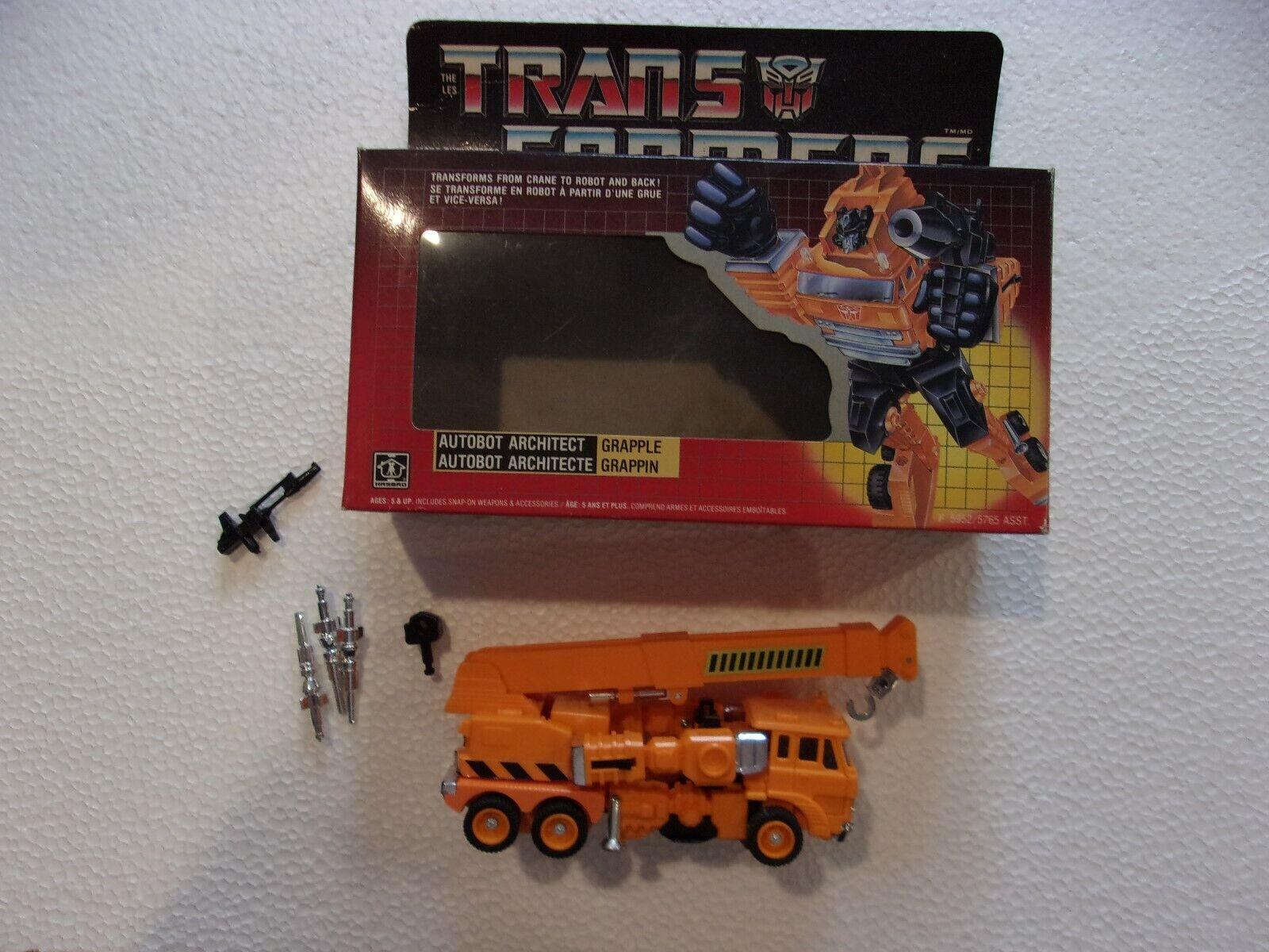 RAMPINO con scatola  99% COMPLETO CON LE ARMI 1988 G1 personaggi Transformers