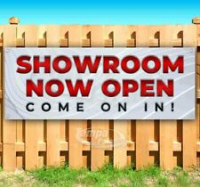 Showroom Now Open Come On In Advertising Vinyl Banner Flag Sign Usa 24 Hours
