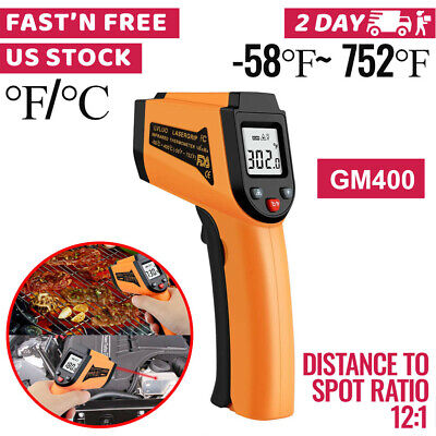 Non-Contact Digital IR Infrared Thermometer Handheld Laser Temperature Gun NN