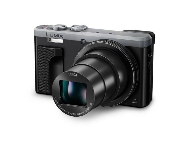Panasonic Lumix DMC-TZ80EB-S Compact Camera 18.1 Mp 30x Optical Zoom Silver