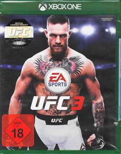 UFC-3-Xbox-One-NEUF-amp-neuf-dans-sa-boite-Version-Allemande-EA-Sports