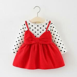 Autumn Baby Girls Clothes Dress Kids Girl Clothing Skirt Infant Toddler Dresses
