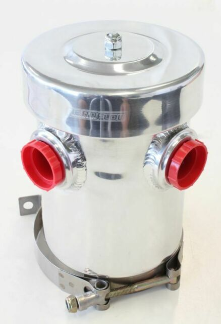 Aeroflow Dry Sump / Breather Tank, Internal Baffling Can Vent To Atmo