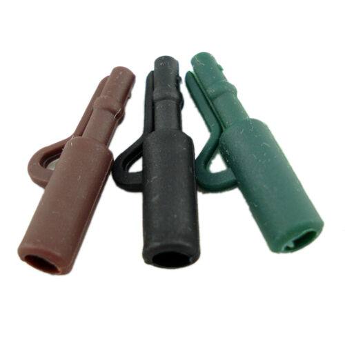 10Sets Durable Carp Fishing Terminal Tackle Safety Lead Clip/&Tail Rubber PinsvnO