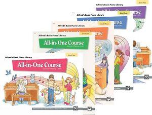 Alfred's Basic Tout-en-un Piano Course-complet 5 Book Pack-afficher Le Titre D'origine Pour Revigorer Efficacement La Santé