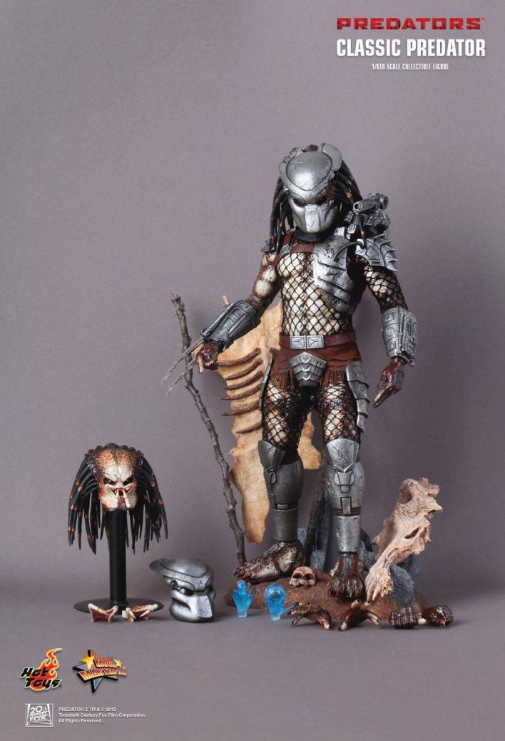 Hot Toys 16 depredadores Classic Predator exclusiva edición especial MMS162