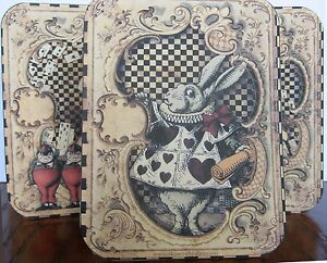 6 Alice In Wonderland Purse Party Favor Table Decoration