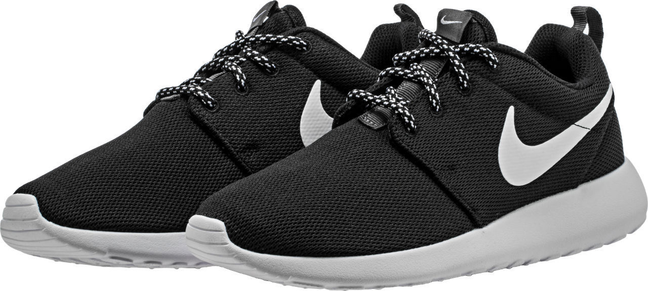 Women's Nike Roshe One Lifestyle Black/White Comfortable Cheap and beautiful fashion