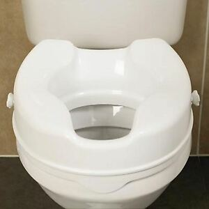 toilet seat no lid. Image Is Loading Savanah 4 Inch Raised Toilet Seat Without Lid  Elevating Disability
