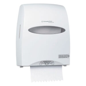 Kimberly-Clark Professional* Sanitouch Hard Roll Towel Dispenser 12 63/100w x 10