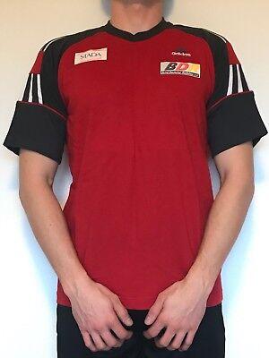 Adidas Herren T Shirt Men Bdr Mtb Nationalmannschaft Kurzarm Rot Gr 5