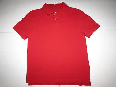 Boy's Red Cherokee Ultimate Polo Shirt Sz M (preown)