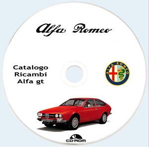 Spare-Parts-Alfa-Romeo-Alfetta-GT-1974-parti-ricambio-meccanica-carrozzeria