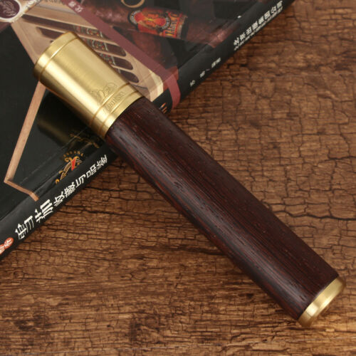 LUBINSKI Metal Cigar Tube Portable Mini Humidor Case Travel 1 Holder Cigars Box