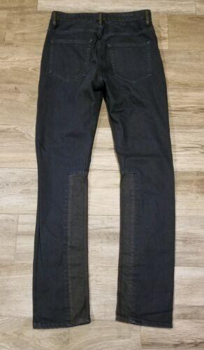 Rare Acne Studios x Jay Z Resin Coated Denim Jeans