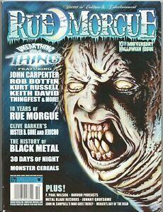 Rue Morgue Magazine Back Issue #95 Left 4 Dead 2 Cover Story Nov 2009 Horror