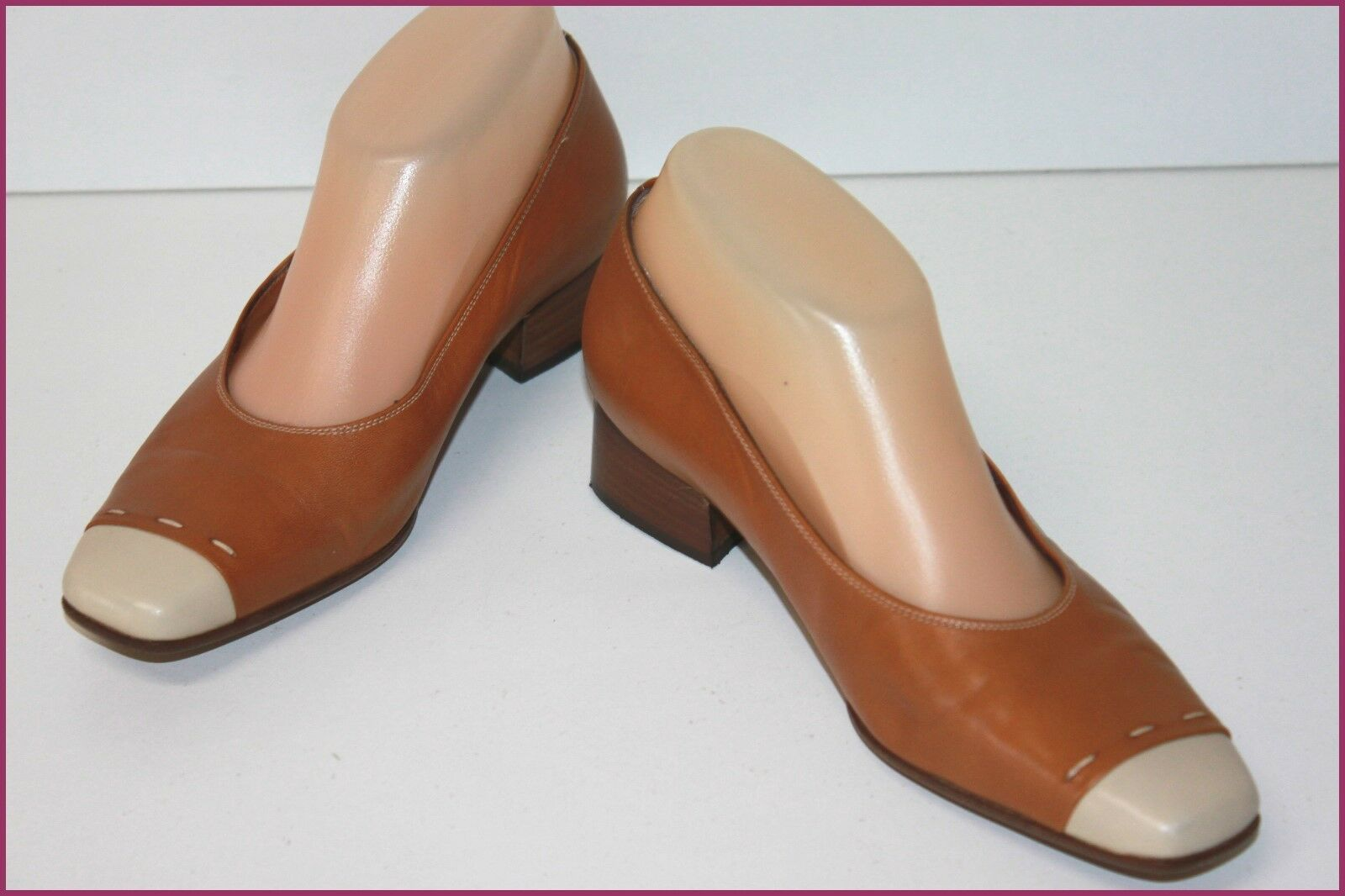 Torresin shoes in pelle Bicolor brown T 36 It   37 Fr Ottima Qualità