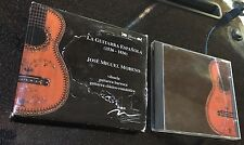 La Guitarra Espanola Jose Miguel Moreno classical guitar CD rare