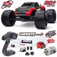 Arrma 1/10 Granite Mega Brushed 2wd Truck Red/black Rtr W/ttx300/battery/charger on sale