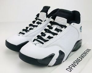1686ff5bf8b1f7 Nike Air Jordan 14 Retro Oxidized Men s Size 7 White Black 487471 ...