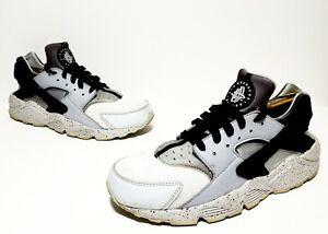6f73dfac030ce Nike Air Huarache Run PRM Men s Size 10.5 Pure Platinum Wolf Grey ...