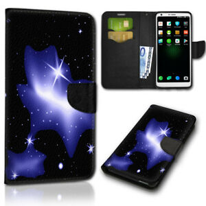 F-Samsung-Galaxy-S2-i9100-Sterne-Nacht-Handy-Tasche-Hulle