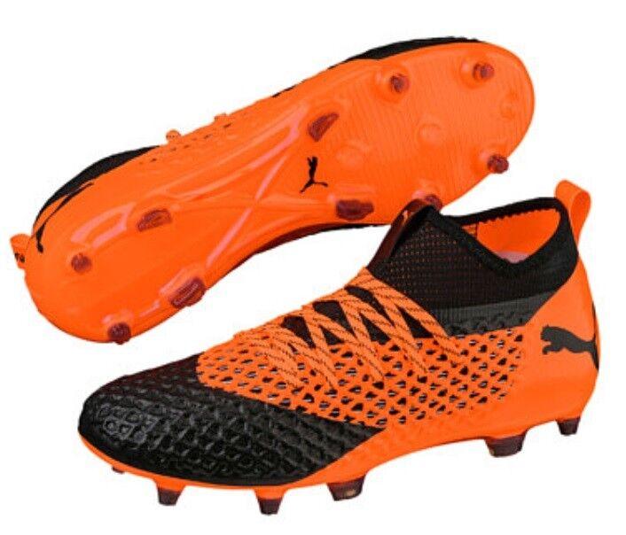 PUMA Future 2.2 Netfit FG/AG Fußballschuh Fußballschuh Fußballschuh 104830 02 Orange-schwarz e159f9