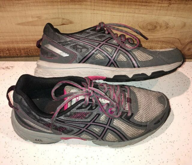 Asics Gel Venture 6 Size 7.5 WIDE EU 39 Women's Trail Running Shoes T7G7N (D)