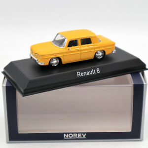 NOREV-Renault-8-Yellow-1-43-DIECASET-Model-Limited-Edition-Collection